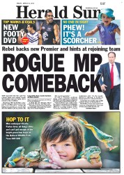 Herald Sun 8 March
