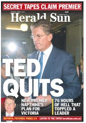 Herald Sun Ted Quits