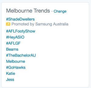 Melbourne trends
