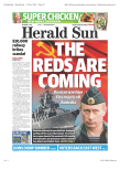 Herald Sun - 13 Nov 2014 - Page #1