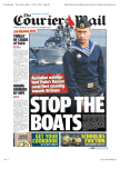 The Courier-Mail - 13 Nov 2014 - Page #1