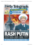 The Daily Telegraph (Sydney) - 13 Nov 2014 - Page #1