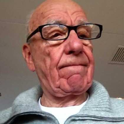 Bert's alter-ego and Mitchell's boss, former 1950s Communist & reconstructed Stalinist, R. Murdoch