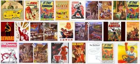 """Examples of """"1960s Communist propaganda"""" so despised by Dr Oriel"""