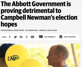Abbott Gvt Detrimental to Newman CM