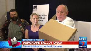 Channel 7 Pic Ashgrove Ballot Draw