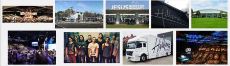 Hillsong uses warehouses and giant spacecraft to preach its message of hate