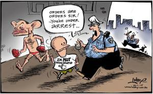 Lehey Cartoon Courier Mail January 11 2012