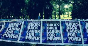 LNP Gaven Courier-Mail Bikies Back Labor