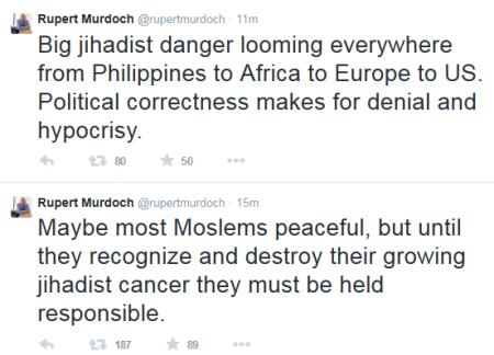 murdoch tweets