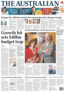 Exclusive excusives in Rupert Murdoch's most expensive vanity publication, The Australian