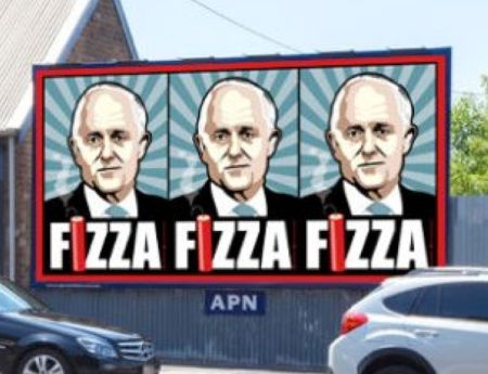 Don't elect a Fizza #PuttheLiberalsLast