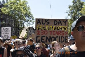 aus day celebrates 230 years of genocide