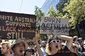 burn australia 2 black genocide