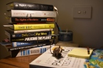 STILL LIFE WITH BOOKS AND DUNNART SOFT295