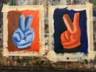 vote orange vote blue